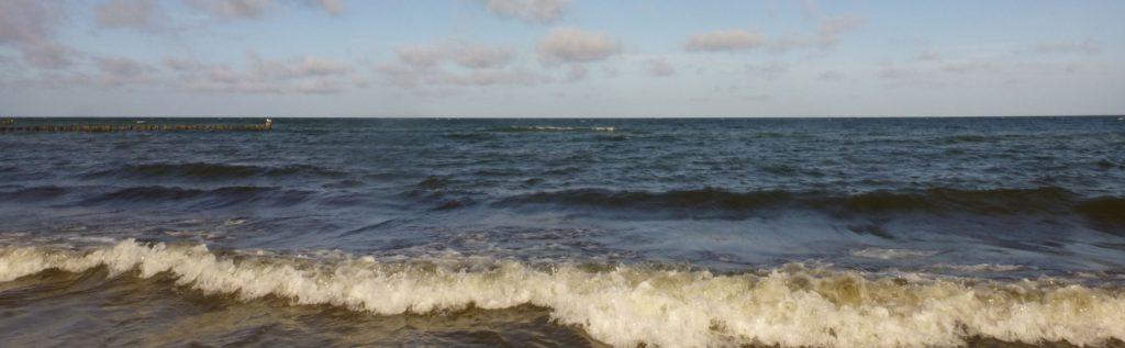 Horizont am Meer